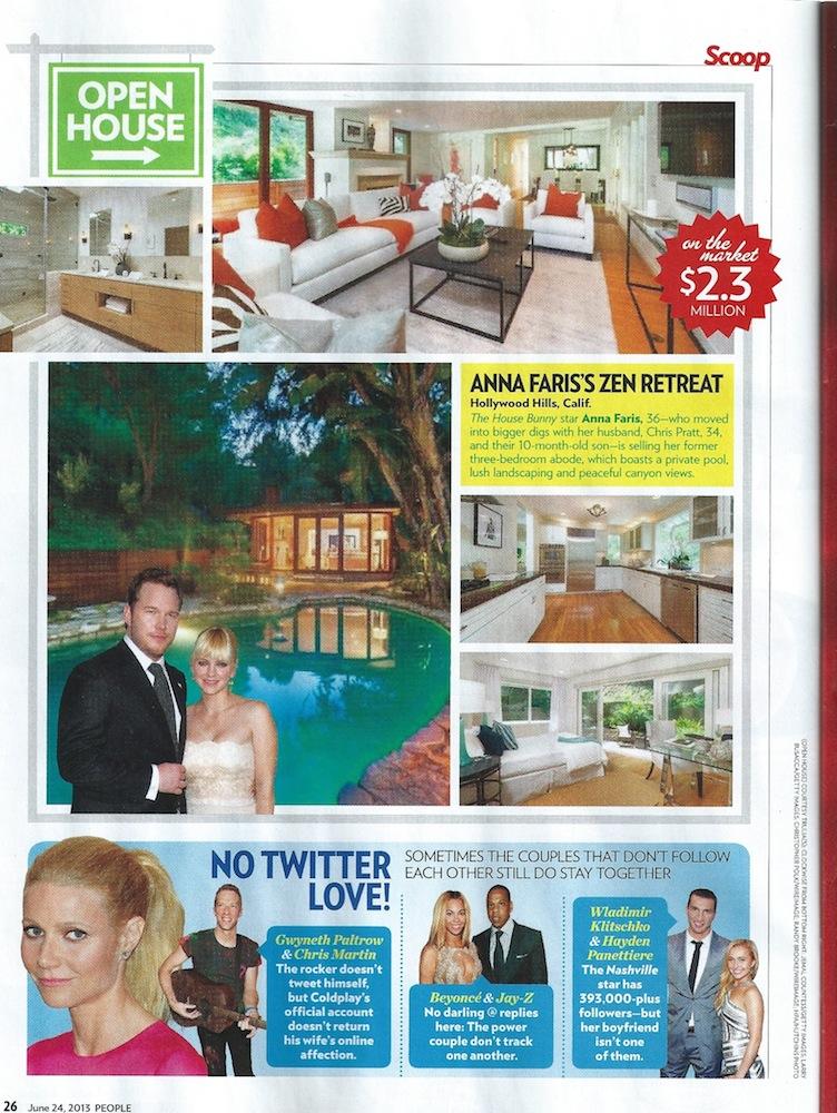 People Magazine | Meridith Baer Home