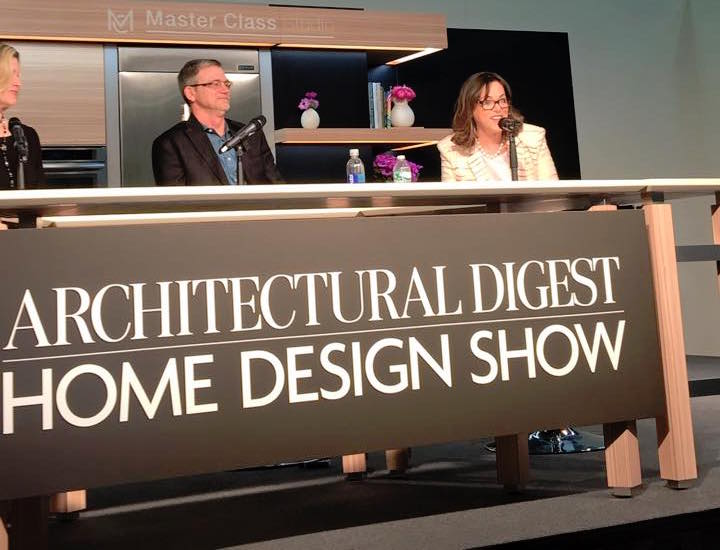 Meridith baer at the architectural digest home design show for Architectural digest show