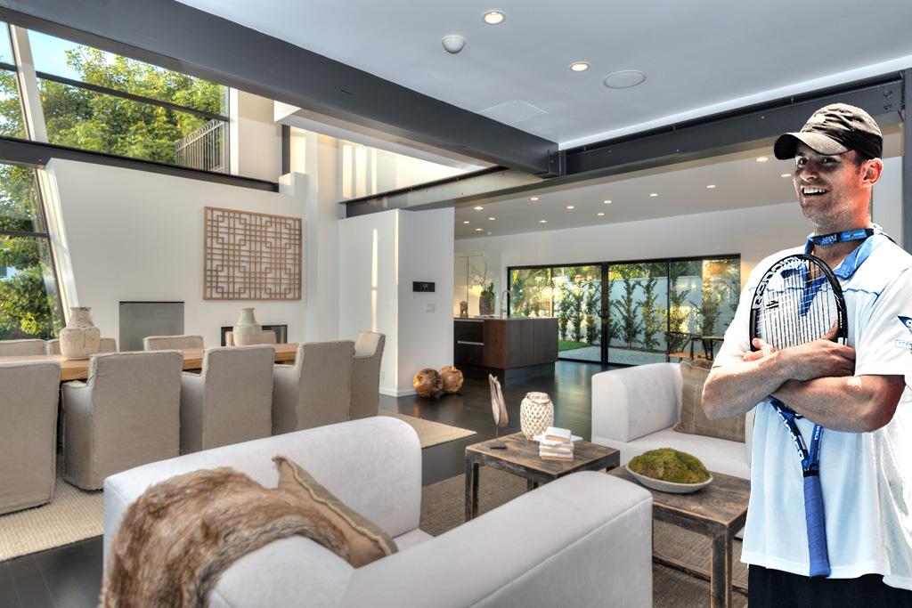 Andy Roddick   Meridith Baer Home