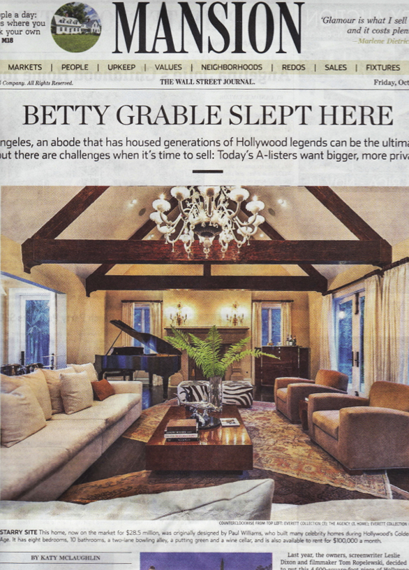 Wall Street Journal | Meridith Baer Home