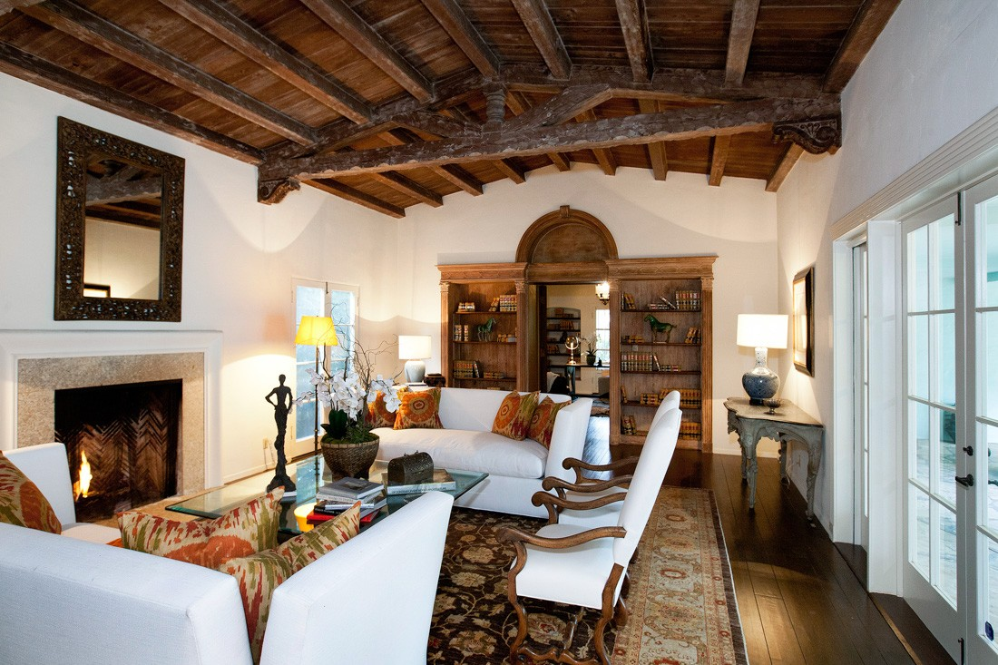 Spanish Colonial Revival Interiors Alluring Diane Keatons Spanish Colonial Revival Style Mansion