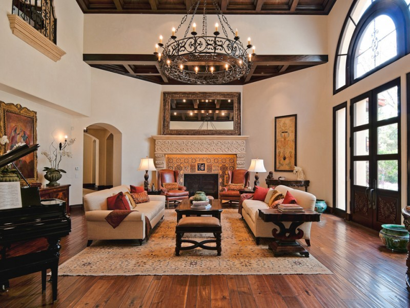 Spanish Manor | Meridith Baer Home