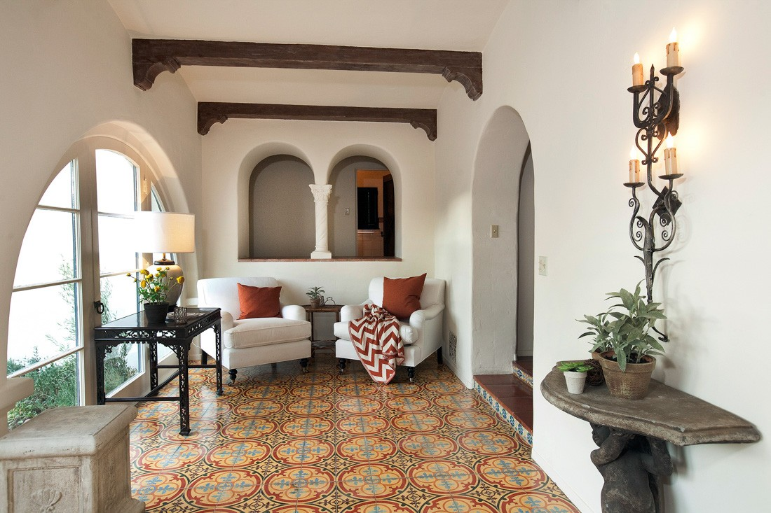 Spanish Colonial Revival Meridith Baer Home