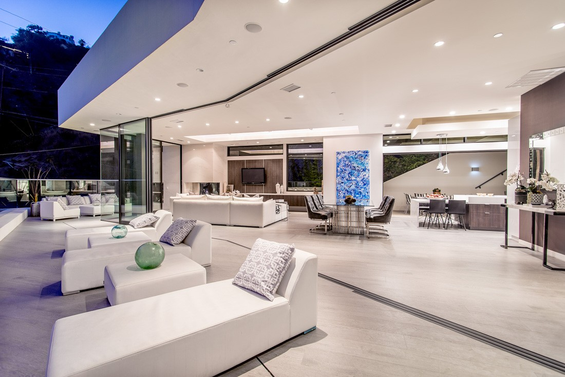 Sunset strip modern meridith baer home - Villa moderne los angeles meridith baer ...