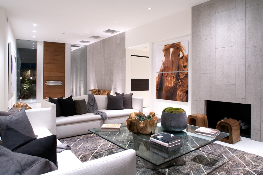 Beverly hills modern meridith baer home - Villa moderne los angeles meridith baer ...