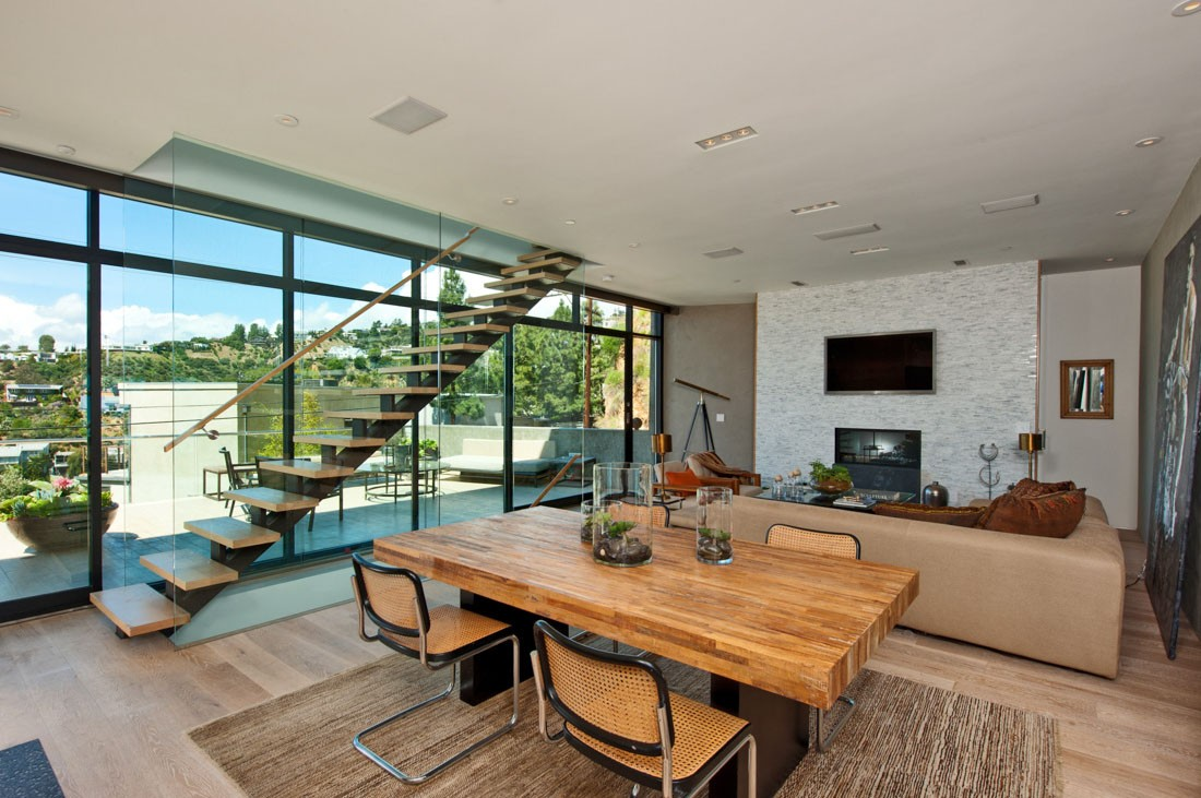 Hollywood architectural meridith baer home - Villa moderne los angeles meridith baer ...