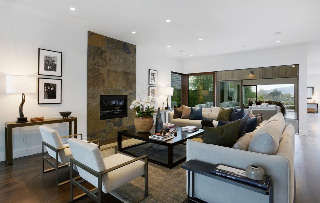 Coastal contemporary meridith baer home for Coastal contemporary