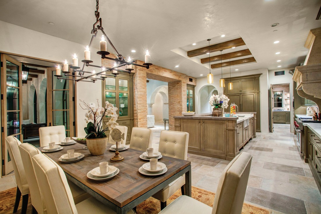 Newport coast estate meridith baer home - Maison style campagne chic ...