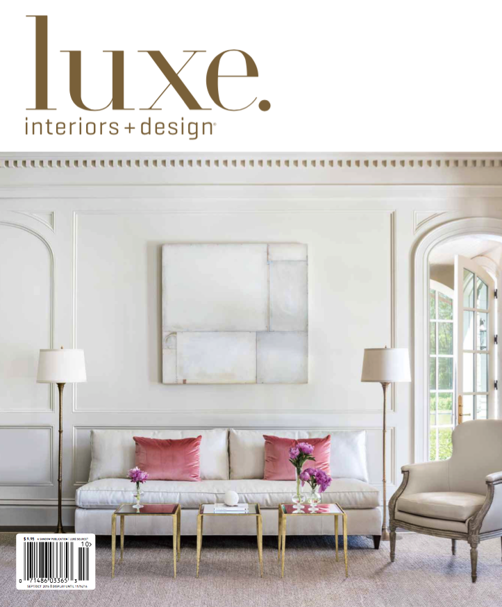 Meridith baer featured in luxe interiors design for Luxe furniture and design