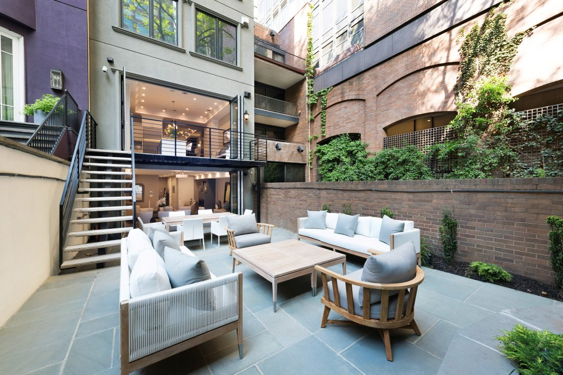 Manhattan Townhouse Meridith Baer Home