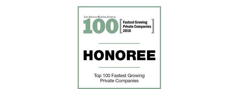 Los Angeles Business Journal 2016