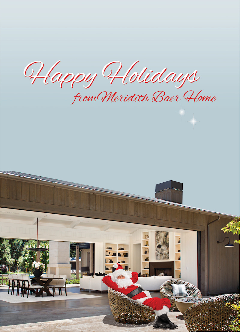 Happy Holidays from Meridith Baer Home