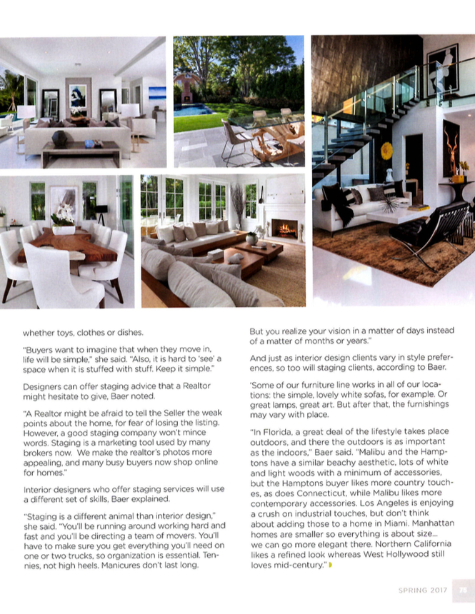 Meridith Baer Featured in Designers Today | Meridith Baer Home