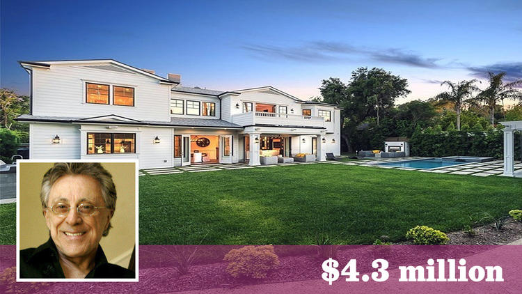 Frankie Valli Bought Encino Estate Staged by Meridith Baer Home