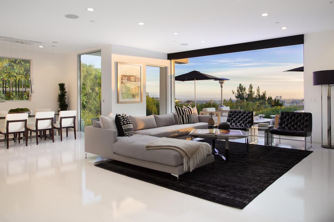 Hollywood hills modern meridith baer home - Villa moderne los angeles meridith baer ...