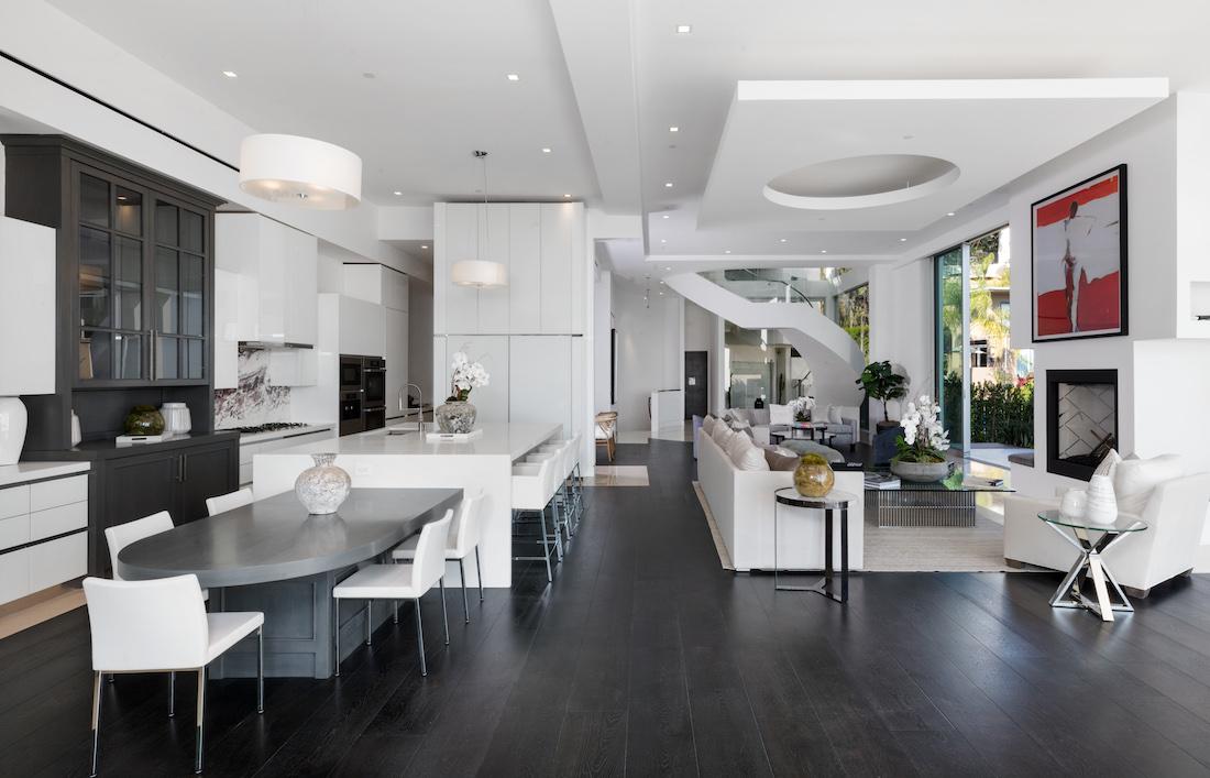 Magnetic terrace meridith baer home - Villa moderne los angeles meridith baer ...