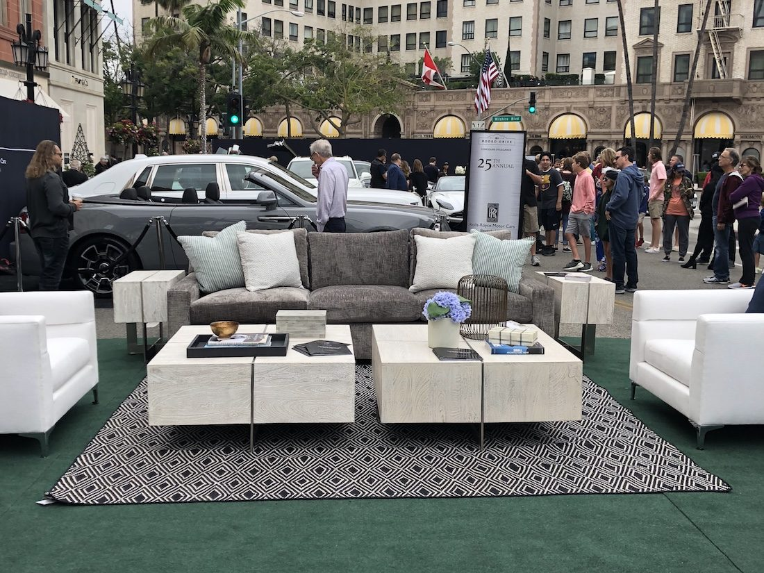 Rodeo Drive car show / Compass