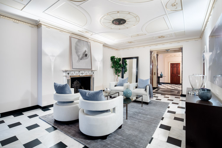 Staging a Carnegie Hill Mansion
