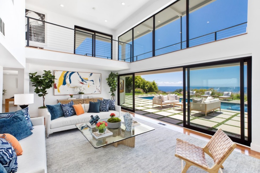 Meridith Baer Home Staged Actor Robert Conrad's Malibu Home for Sale