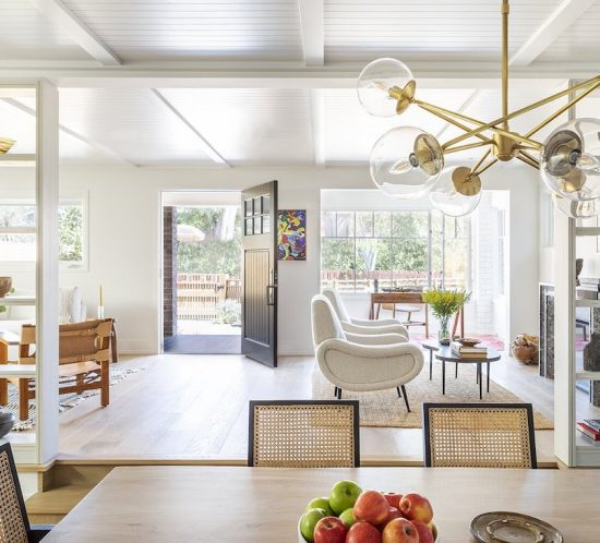 Eclectic Staging by Meridith Baer Home Featured in Dwell Magazine