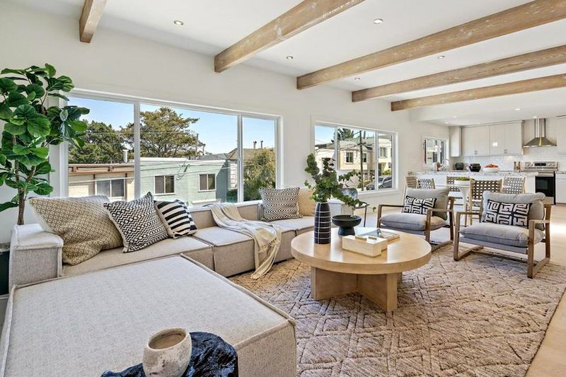 STAGED AND SOLD IN EIGHT DAYS FOR $625,000 OVER ASKING