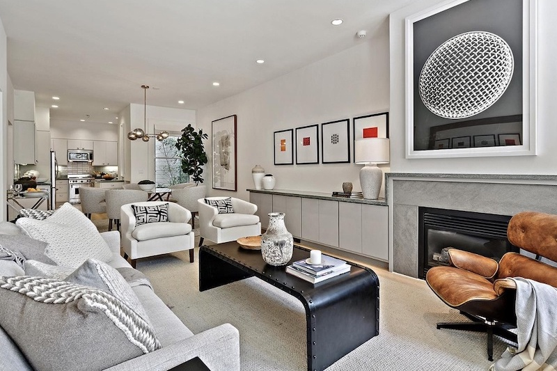 STAGED AND SOLD IN 11 DAYS FOR $415,000 OVER ASKING
